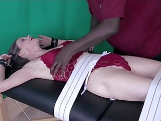 SAWT - Management 1 - Part 4 - Tickled In Undies (barefoot)