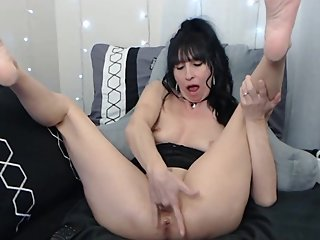 SavannahAllure Recorded Private Show with Close-up Squirt