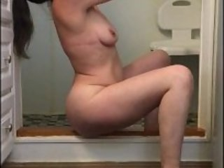Horny, decided to fuck myself in the shower!