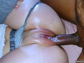 Slim Thick Beautiful Pawg Gets Fucked By Burglars BBC Close Cumshot End 4k!