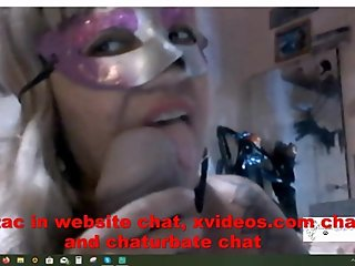 Exotic cougar on Skype