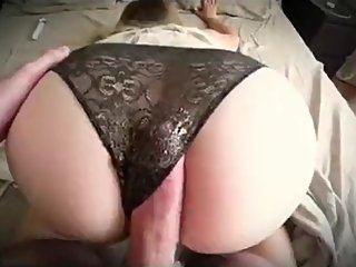 Step mom caught masturbating and gets fucked by nerdy step son