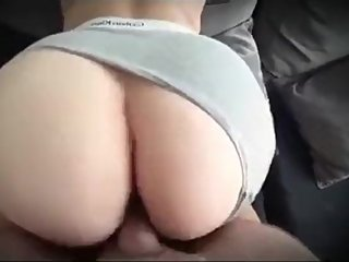 Step mom gets creampie from step son fucking and sucking cock