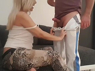 Mom and Stepson family taboo