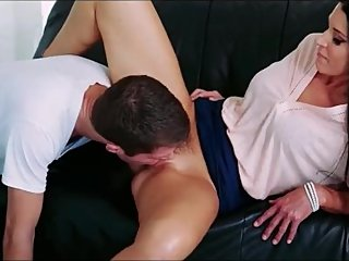 Getting team step mom and daughter on a studs cock