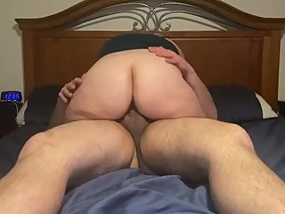 Wifey blows and fucks so good!