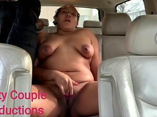 Having Some Fun In The Backseat