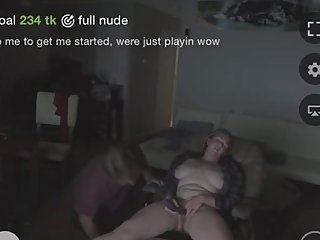 hot wife playing on webcam live