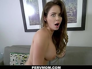 PERVMOM - CHEATING STEPMOM WITH BIG TITS DEEPTHROATS HER STEPSON
