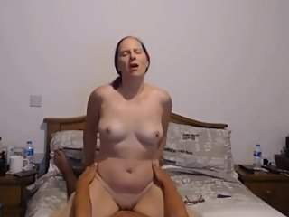Mom rides stepson cock hard and fast