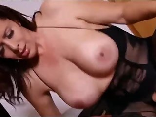 Busty virgin stepmom teaches her virgin stepson sex