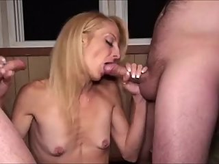 Gina Starr Two BIG LOADS of Jizz