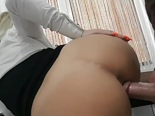 Boss filming haw fuck secretary ass in the office-by lolyamateur