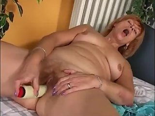 Hot milf masturbating while hubby recording