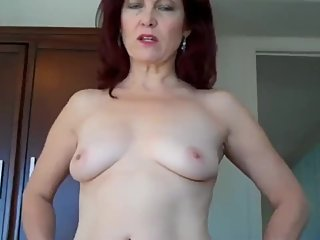Shameless mature stepmom let her stepson cum inside her pussy