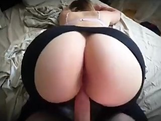 Step son ripping step mom leggings and fucking her ass for $50