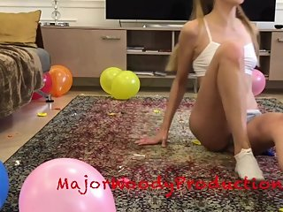BALLOON POPPING COMPILATION