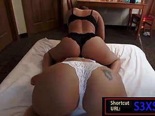 Big Tits and Ass PAWG MILFs Sexy Catfight