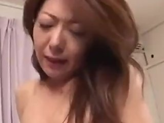 Small Japanese Milf Creampied By Young Lover 386