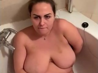 Pissing on my beautiful MILF wife , after swinging her with someone else