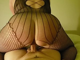 BBW Ride to orgasm chubby amateur milf from DateFree.eu