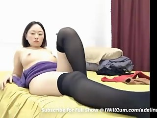 Big Butt Big Tit Asian PAAG in Pantyhose Has Some Good Pussy