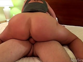 HOTWIFE Double Vaginal and Anal Threesome