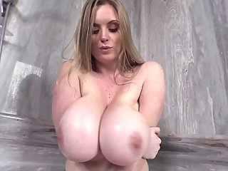 Maria Huge Sopping Wet Breasts