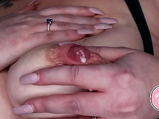 Breast Milk & Creampie Fun with Mommy
