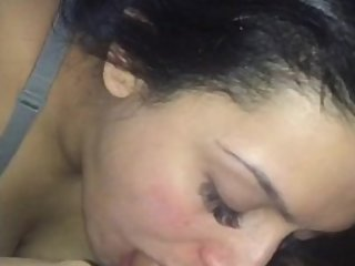 Hot Latina loves sucking dick