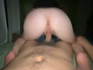 Sexy wife reverse cowgirl