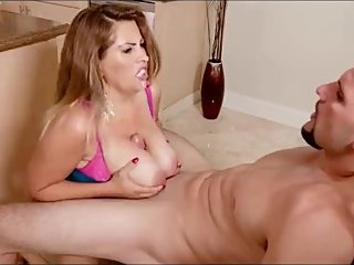 Stepmother Whore Enjoy Cum In Her Ass By Son