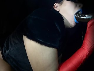 Watch unknown Amazon Deepthroat and Choke On BBC