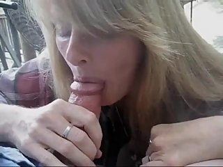 Mature Outdoor Blowjob Compilation