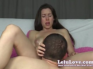 He eats my pussy big orgasms I ride for more & stroke him off - Lelu Love
