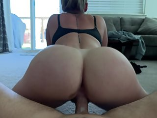 "ppthedp - 52"" PAWG Squirts On Carpet, Creampied Her Pussy"