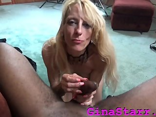 Gina Starr Squirting on BBC