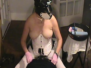 SUBMISSIVE HUSBAND-Amateur Femdom Cuckold Pegging