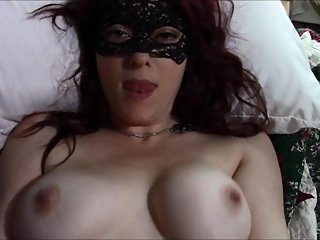 She eats the cum off her pussy after masturbating and getting fucked