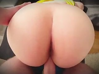 Step mom helps out step son with blue balls and fucking him till cums
