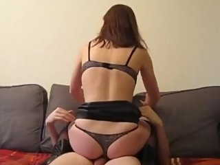 Lucky Bald Guy Fucks Hot Young Milf