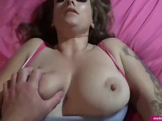 #2 Melody Radford AMATEUR GAMER GIRL FUCK Missionary with Cum On My Pussy
